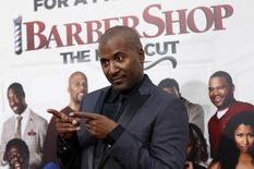 "Director of the movie Malcolm D. Lee poses at the premiere of ""Barbershop: The Next Cut"" at TCL Chinese theatre in Hollywood, California April 6, 2016. REUTERS/Mario Anzuoni"