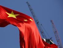 Le PIB chinois devrait afficher une croissance de 6,7% sur un an au premier trimestre, son plus bas niveau depuis la crise financière internationale. /Photo prise le 26 janvier 2016/REUTERS/Kim Kyung-Hoon