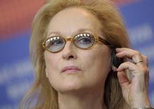 Actress Meryl Streep  in Berlin February 11, 2016. REUTERS/Stefanie Loos -