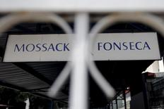 Mossack Fonseca law firm sign is pictured in Panama City, in this April 4, 2016 file photo. REUTERS/Carlos Jasso/Files