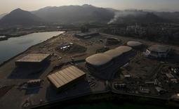 Vista aérea do Parque Olímpico, no Rio de Janeiro.   26/04/2016      REUTERS/Ricardo Moraes