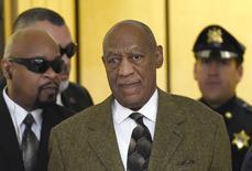 Bill Cosby chega para audiência em Norristown. 2/2/2016.  REUTERS/Clem Murray/Divulgação