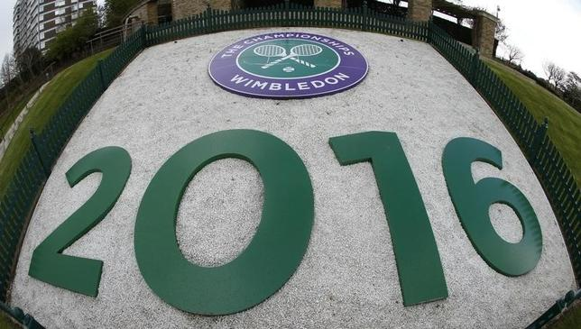 Tennis - Wimbledon Spring Press Conference 2016 - All England Lawn Tennis & Croquet Club, Wimbledon, England - 26/4/16General view in the grounds of WimbledonAction Images via Reuters / Andrew BoyersLivepic
