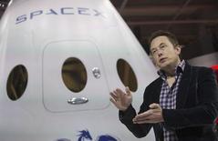 Foto de arquivo do CEO da SpaceX Musk em Hawthorne, na Califórnia. 29/5/2014.  REUTERS/Mario Anzuoni