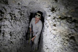 Islamic State tunnels