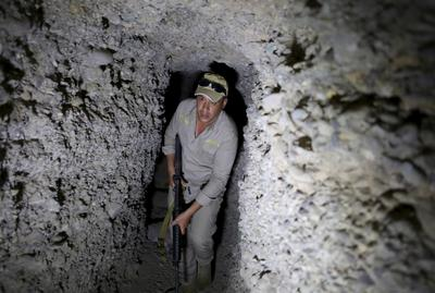 Islamic State tunnels