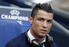Atacante Cristiano Ronaldo, do Real Madrid, na partida de ida contra Manchester City pela semifinal da Liga dos Campeões.    26/04/2016 Action Images via Reuters / Carl Recine Livepic