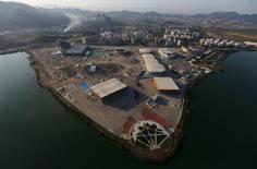 Vista aérea do Parque Olímpica do Rio de Janeiro. 25/04/2016 REUTERS/Ricardo Moraes
