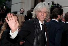 Singer/songwriter and activist Bob Geldof arrives for the GQ Men of the Year Awards at the Royal Opera House in London, Britain September 8, 2015. REUTERS/Suzanne Plunkett