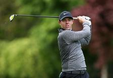 Northern Ireland's Rory McIlroy in action during the Pro-Am. Action Images via Reuters / Paul Childs