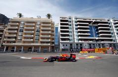 Formula One - Monaco Grand Prix - Monaco - 26/5/16. Red Bull Racing F1 driver Daniel Ricciardo attends the first practice.  REUTERS/Eric Gaillard