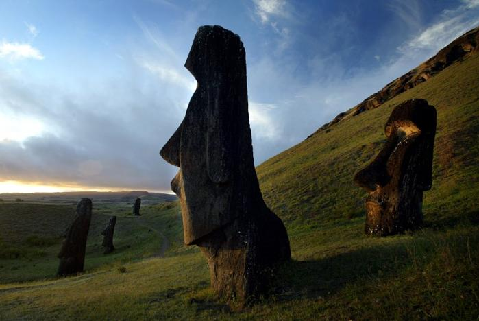 From Easter Island to Stonehenge, climate change threatens iconic ...