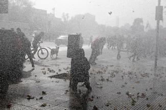 Student clashes in Chile intensify