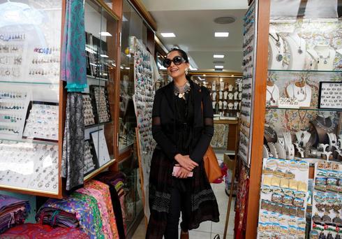 Sonam Kapoor in Israel