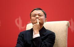 Fundador e presidente-executivo do Alibaba, Jack Ma, durante o China Development Forum, em Pequim 19/03/2016 REUTERS/Shu Zhang/File Photo