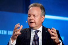 Stephen S. Poloz, Governor of the Bank of Canada, speaks at the Milken Institute Global Conference in Beverly Hills, California, U.S., May 3, 2016. REUTERS/Lucy Nicholson