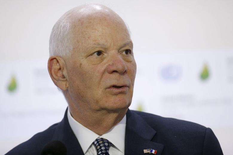 U.S. Senator Ben Cardin at Le Bourget, near Paris, France, December 5, 2015. REUTERS/Stephane Mahe
