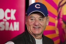"""Cast member Bill Murray arrives for the premiere of the film """"Rock the Kasbah"""" in New York October 19, 2015.  REUTERS/Lucas Jackson/File Photo"""