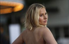 Kristen Bell durante evento de Los Angeles. 28/3/2016. REUTERS/Mario Anzuoni