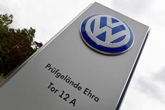 Les ventes du groupe Volkswagen ont renoué avec la croissance en mai, pour la première fois en quatre mois, grâce à Audi et à Skoda qui ont plus que compensé le tassement de VW et de Porsche. Les ventes ont augmenté de 1,6% à 871.500 unités. /Photo prise le 16 juin 2016/REUTERS/Fabian Bimmer