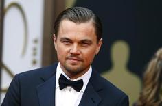 Ator Leonardo DiCaprio em cerimônia do Oscar em Hollywood. 2/3/2014.    REUTERS/Lucas Jackson