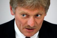 Porta-voz do Kremlin, Dmitry Peskov, durante evento em Sochi, Rússia.     19/05/2016       REUTERS/Sergei Karpukhin