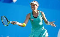 Britain Tennis - Aegon International - Devonshire Park, Eastbourne - 22/6/16 Great Britain's Johanna Konta in action during the third round Action Images via Reuters / Peter Cziborra Livepic