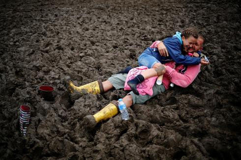 Scenes from Glastonbury