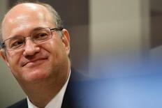 Ilan Goldfajn, presidente do Banco Central, em reunião no Senado 07/06/2016 REUTERS/Adriano Machado