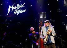 U.S. saxophonist Charles Lloyd performs during the 50th Montreux Jazz Festival in Montreux, Switzerland, June 30, 2016. REUTERS/Denis Balibouse