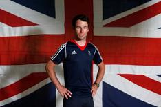 Britain Cycling - Team GB - Rio 2016 Cycling Team Announcement - The National Cycling Centre, Sportcity, Manchester - 24/6/16 Great Britain's Mark Cavendish poses Action Images via Reuters / Ed Sykes Livepic EDITORIAL USE ONLY. - RTX2I0WV