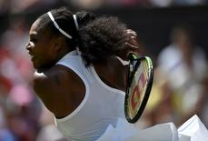Britain Tennis - Wimbledon - All England Lawn Tennis & Croquet Club, Wimbledon, England - 3/7/16 USA's Serena Williams in action against Germany's Annika Beck REUTERS/Tony O'Brien