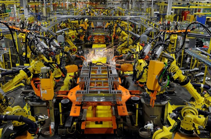 US factory orders fall, but rising backlogs hint at stabilization