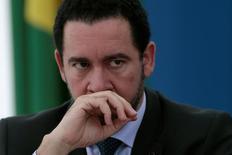 Ministro interino do Planejamento, Dyogo Oliveira, durante entrevista coletiva no Palácio do Planalto, em Brasília 02/06/2016 REUTERS/Ueslei Marcelino