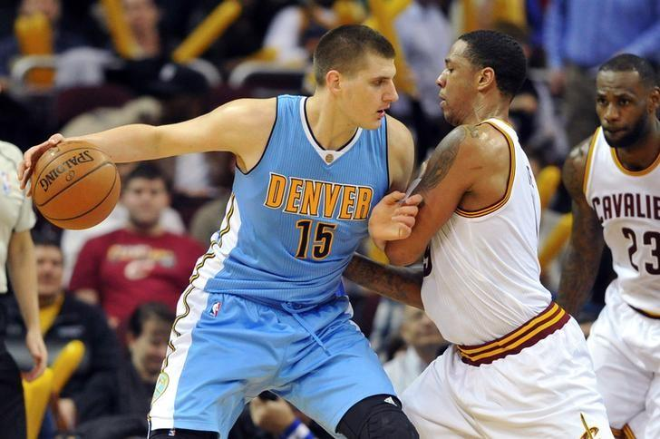 Image result for nikola jokic nuggets 2016