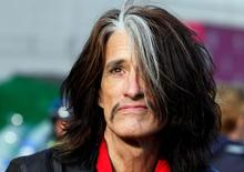 Aerosmith's Joe Perry is seen in Boston, Massachusetts November 5, 2012, following a performance in neighboring Allston. REUTERS/Jessica Rinaldi/File Photo