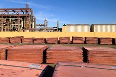 Les Etats-Unis ont contesté mercredi les droits chinois à l'exportation sur neuf métaux, dont du cuivre, et minéraux, estimant qu'ils allaient à l'encontre des engagements pris par la Chine envers l'Organisation mondiale du commerce (OMC) et qu'ils assuraient un avantage déloyal aux industriels chinois. /Photo prise le 24 ami 2016/REUTERS/Sonali Paul