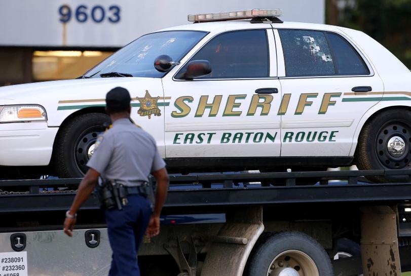 Ex-US Marine kills three policemen in racially tense Baton Rouge