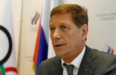 Dirigente do Comitê Olímpico da Rússia, Alexander Zhukov, durante encontro em Moscou.   20/07/2016       REUTERS/Sergei Karpukhin