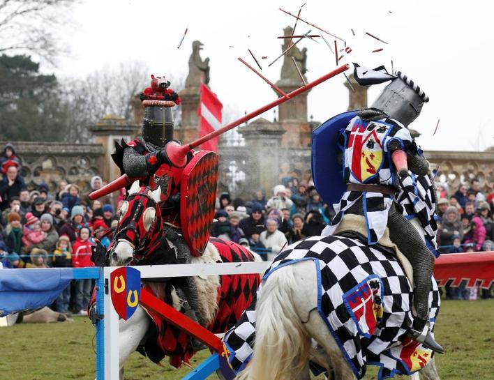 English Heritage campaign calls for jousting to be made Olympic sport