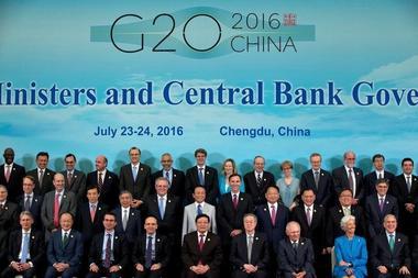 焦点:G20誓言加强提振经济广泛共享利益 共同面对英退阻力