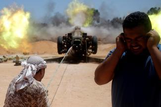 Frontlines of Libya