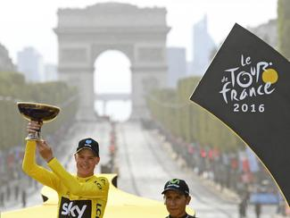 Froome wins Tour de France