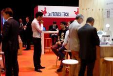 """La """"French Tech"""", initiative visant à soutenir les start-ups françaises, a pris un nouvel élan lundi avec la confirmation des 13 métropoles bénéficiant de ce label et l'annonce de la constitution de neuf réseaux thématiques. /Photo prise le 30 juin 2016/REUTERS/Benoît Tessier"""