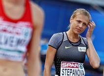 Atleta Yulia Stepanova em Amsterdã  6/7/2016  REUTERS/Michael Kooren
