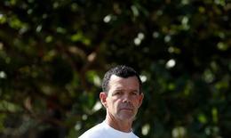 Torben Grael durante treino da equipe de vela no Rio de Janeiro. 22/6/2016. REUTERS/Sergio Moraes