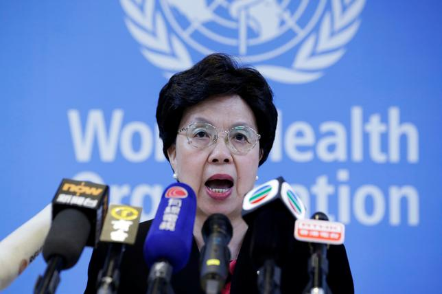 Director General of the World Health Organization (WHO) Margaret Chan attends a news conference in Beijing, China, July 29, 2016. REUTERS/Jason Lee