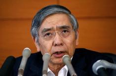 Presidente do Banco do Japão, Haruhiko Kuroda.    29/07/2016     REUTERS/Kim Kyung-Hoon