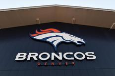 Jul 28, 2016; Englewood, CO, USA; General view of the Pat Bowlen facility during the Denver Broncos before the start of camp drills held at the UCHealth Training Center. Mandatory Credit: Ron Chenoy-USA TODAY Sports