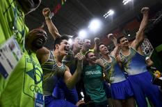 Equipe brasileira de ginástica  06/08/2016  REUTERS/Dylan Martinez